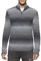 Calvin Klein Jeans Space Dyed Quarter Zip Sweater