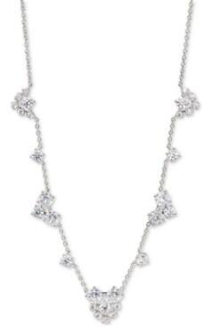 "Eliot Danori Felicity Crystal Cluster Frontal Necklace, 15"" + 3"" extender"