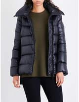 Moncler Salix high-gloss shell down jacket