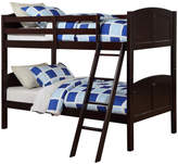Angel Line Creston Twin over Twin Bunk Bed Bed Frame