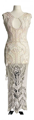Dolce & Gabbana White Silk Dresses