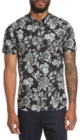 Ted Baker Men's Taxee Floral Print Woven Shirt