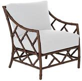 One Kings Lane Celerie Kemble For Kit Lounge Chair - White