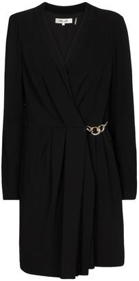 Diane von Furstenberg Christel crepe wrap minidress