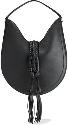 Altuzarra Ghianda Tasseled Pebbled-leather Tote