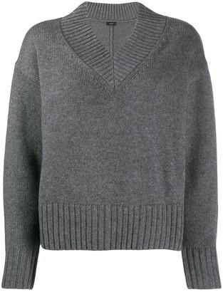 Joseph v-neck boxy-fit jumper