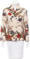 Carolina Herrera Floral Wool Jacket