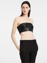 Calvin Klein Matte Nappa Strapless Bustier