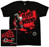 Liquid Blue Men's Monty Python Flesh Wound T-Shirt