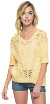 Juicy Couture Marled V-Neck Sweater