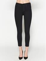 L'Agence The Margot High Rise Ankle Skinny In Noir