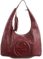 Gucci Leather Soho Hobo