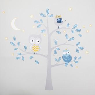 Lambs & Ivy Happi by Dena Night Owl Jumbo Wall Appliques