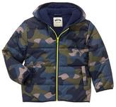 Gymboree Camo Puffer Jacket