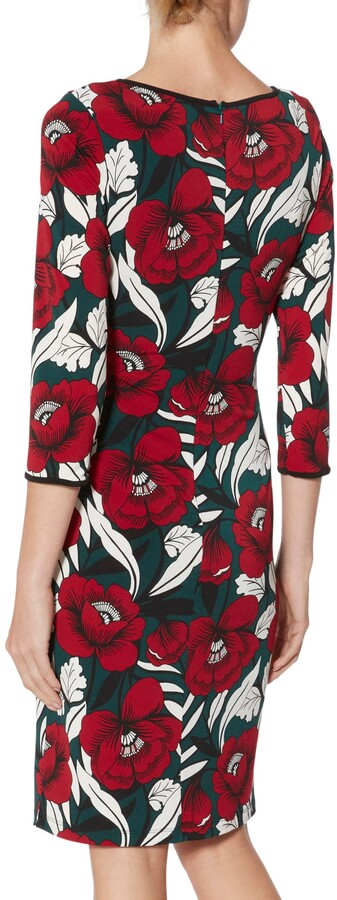 Thumbnail for your product : Gina Bacconi Hetty Trim Jersey Dress, Multi