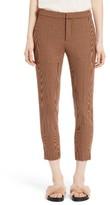 Chloé Women's Check Crop Pants