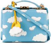 Mark Cross cloud print box bag - women - Calf Leather - One Size