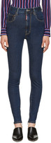 DSQUARED2 Blue High-Rise Twiggy Jeans