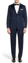 Hickey Freeman Men's 'Tailor's Gold' Classic B Fit Wool Tuxedo