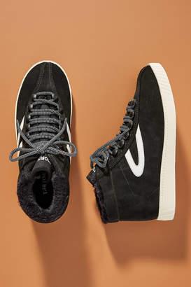 Tretorn Cozy High-Top Sneakers