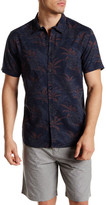 Quiksilver Palm Dogs Short Sleeve Modern Fit Shirt