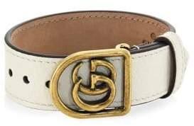 Gucci Marmont Double G Leather Bracelet