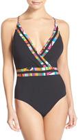 Nanette Lepore Mambo Goddess One-Piece Swimsuit