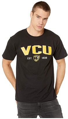 Champion College Virginia Commonwealth Rams Jersey Tee (Black) Men's T Shirt