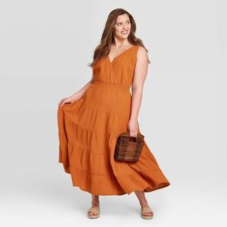 Universal Thread Women's Plus Size Sleeveless Tiered Dress - Universal ThreadTM