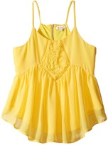 Ella Moss Daniella Baby Doll Top Girl's Clothing