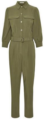 Gestuz Dark Olive Flattering Fit Etta Jumpsuit - xs | polyester