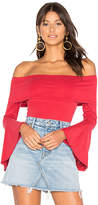House Of Harlow x REVOLVE Abby Bodysuit in Red. - size L (also in M,S,XS)