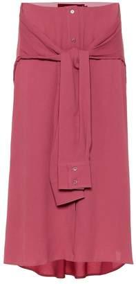 Sies Marjan Lydia silk-blend skirt