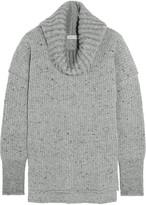 Sonia Rykiel Ribbed wool-blend turtleneck sweater