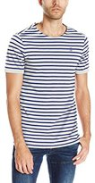 G Star Men's Prebase Stripe Short Sleeve T-Shirt