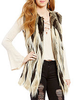 GB Faux-Fur Vest