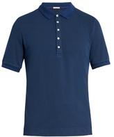 Massimo Alba Tennis stretch-cotton piqué polo shirt