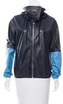 Celine Two-Tone Leather Jacket