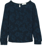 Paul & Joe Epinede Jacquard Top - Midnight blue