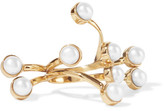 Cornelia Webb Gold-plated Pearl Ring