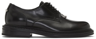 Neil Barrett Black Formal Pierced Punk Derbys