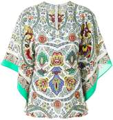Etro printed floaty blouse