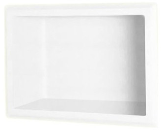 Swan 4x7x10 Solid Surface Soap Dish, White