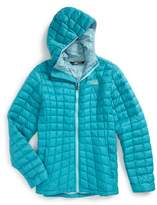 The North Face Girl's Thermoball(TM) Primaloft Hooded Jacket