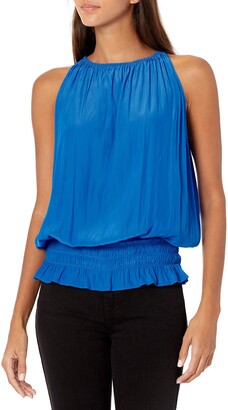 Ramy Brook Women's Sleevless Lauren Top with Elastic Waist