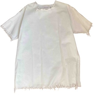Marques Almeida White Cotton Dresses