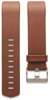 Fitbit Charge 2 Leather and Stainless Steel Large Accessory Band