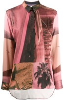 Paul Smith abstract print shirt