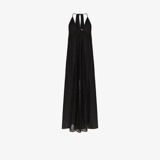 Stella McCartney Lace Panelled Halterneck Dress
