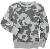 kardashian kids (Boys 4-7) Intarsia Camo Sweater